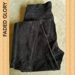 Faded Glory Women's Legging Pants in color Black